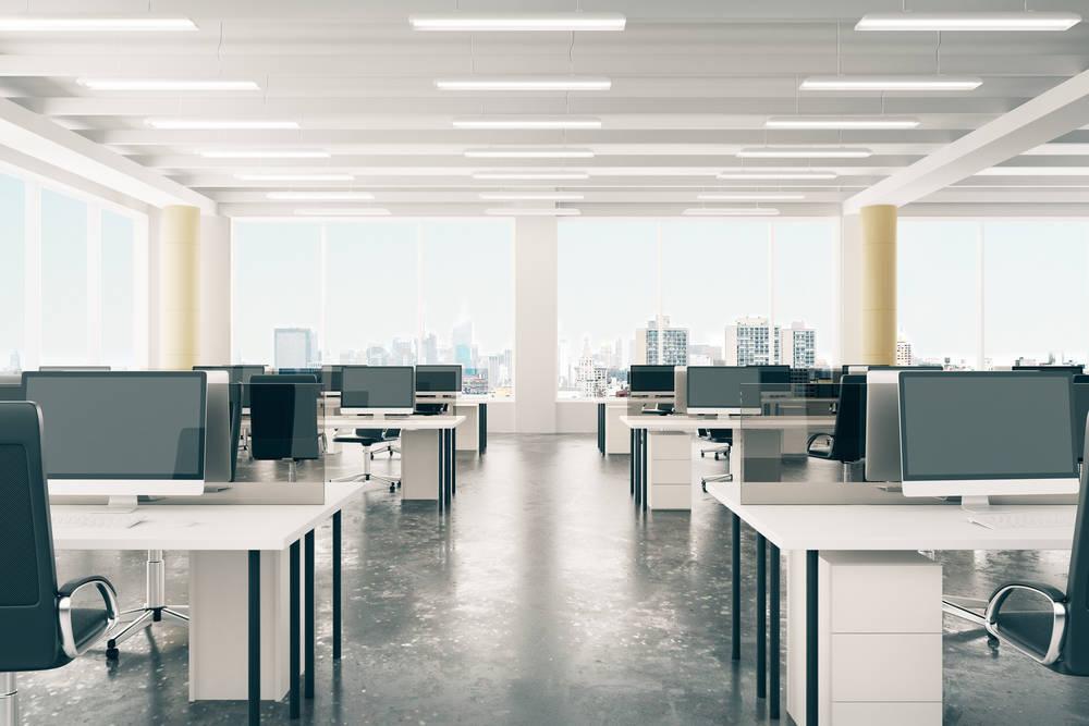 Decoración contra el estrés en oficinas