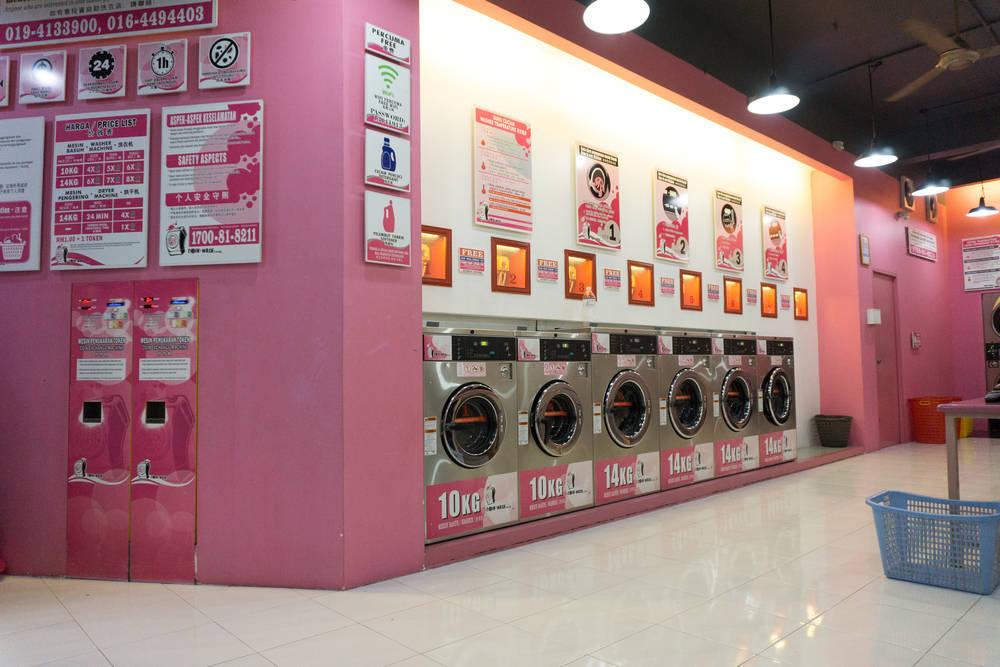 Las lavanderías autoservicio, un sector en alza